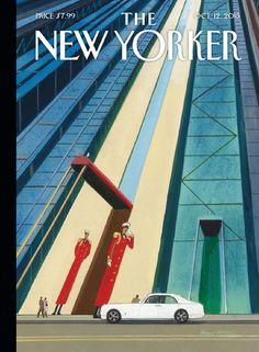 Magazine The New Yorker  #10 October 2015 USA read online, Revista toda seguindo um padrão
