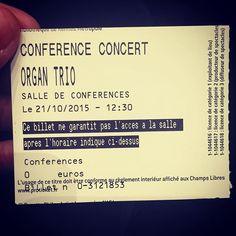 Regram from @leaherjean  Le petit plaisir culturel et musical du mercredi midi aux #champslibres à #rennes #organtrio #musicforlife - See more at: http://iconosquare.com/viewer.php#/detail/1100626563566012285_523873456