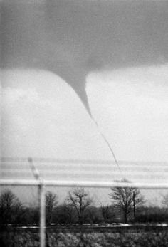 Flood of 1982. As the president's plane prepared to touch down in Fort Wayne, a tornado was seen to the south of the airport.