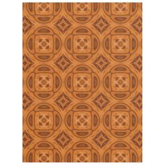 Orange abstract wooden pattern with different shapes and pattern. A square with a flower pattern in the middle of it. You can also customize it to get a more personal look. Abstract Pattern, Abstract Art, Wooden Pattern, Wood Tree, Cozy Blankets, Different Shapes, Flower Patterns, Middle, Orange