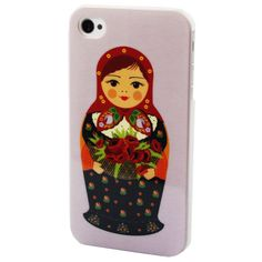 Amazon.com: Rose Chubby Russian Doll Design Hard Back Skin Case Cover for iPhone 4 4G 4S: Cell Phones & Accessories