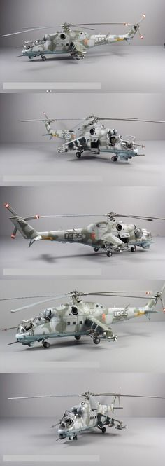 MiL 24 Hind Plastic Model Helicopter Kit in 1/48 Scale. @ http://www.hobbylinc.com/cgi-bin/pic.cgi?t=pics_user_galleries&item_i=65084&pic_user_i=844&pic_pic_i=8213