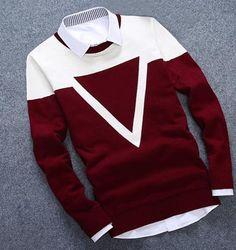 Men's Casual Pullover