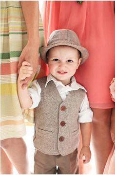 Se eu tiver um filho, vou vestí-lo só assim!