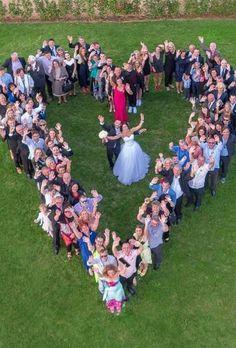 Most Pinned Heart Wedding Photos ★ See more: www.weddingforwar… Most Pinned Heart Wedding Photos ★ See more: www. Cute Wedding Ideas, Wedding Goals, Wedding Pictures, Dream Wedding, Wedding Day, Wedding Inspiration, Rustic Wedding, Elegant Wedding, Spring Wedding
