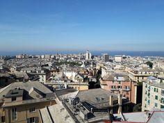 Genova Italy San Francisco Skyline, Paris Skyline, Italy, Travel, Italia, Viajes, Trips, Traveling, Tourism