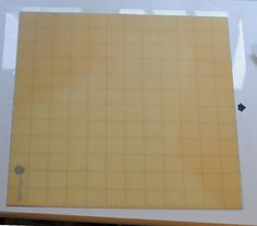 embossing mat for Silhouette - The embossing kit for the Silhouette will only be able to emboss on thin metal sheets and vellum. **The Silhouette machine does not have the power to emboss paper.
