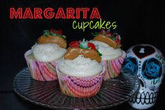 Margarita Cupcakes w/Candy Tacos
