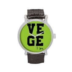 Vege i'm wristwatches