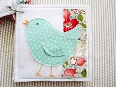 Sweet Flowers Quiet Book - Cutting fabric with a cricut machine by carole