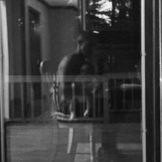 My very ghostly abstract picture of #KingKane and I sitting for dinner after being back from a night run. #MySONShine #HardestWorkingDadInTheRoom #AllForHim