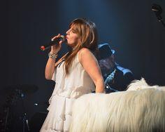 Deborah Allen performing during her Rockin' Little Christmas Show at Fontanel in Nashvilke, TN.