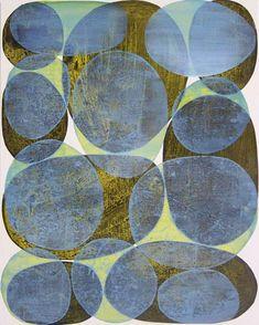 Denise Driscoll Abstract Painting - Inner Garden 23 #abstractart