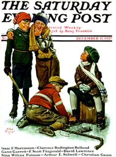 Exclusive licensor of The Saturday Evening Post and The Country Gentleman art. Thousands of images by Norman Rockwell, J. Leyendecker and hundreds of America's Finest Artists. Norman Rockwell Art, Norman Rockwell Paintings, Jc Leyendecker, Stephen Foster, Saturday Evening Post, Skate Art, Vintage Magazines, Vintage Ads, Vintage Signs