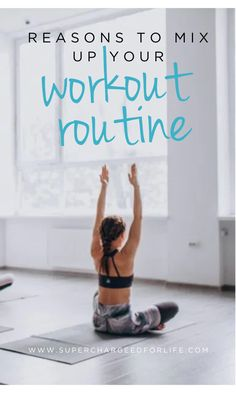 5 Reasons To Mix Up Your Workout Routine Wellness Tips, Health And Wellness, Health Fitness, Fibromyalgia Exercise, Fitness Tips, Fitness Motivation, Healthy Lifestyle Tips, Healthy Habits, Another A