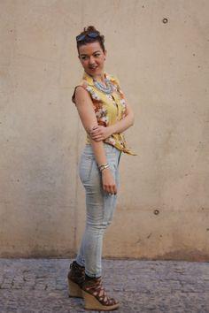 Camisa Hawaiana + Cuñas Steve Madden | Trapos | Blog Moda Belleza Valencia #kissmylook