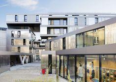 56 appartements à Nantes - Arch. PHD Architectes - Photos : Sergio Grazia, Michel Denancé