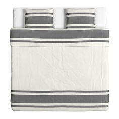BJÖRNLOKA Dobbelt sengesett - 240x220/50x60 cm - IKEA