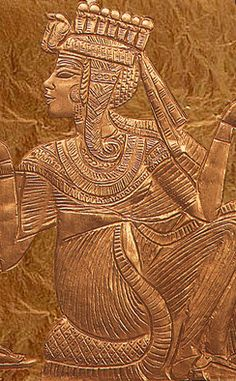"There is little known about Ankhesenamun (meaning ""She lives through Amun"" or ""Living through Amun"")...."