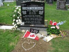 Corey Haim, Pardes Shalom Cemetery, Maple, ON, Canada