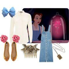 Belle Disneybounding #disneybound #beautyandthebeast #belle #disneybounding