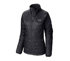 Mountain Hardwear - Thermostatic women's synthetic fibre jacket (black)