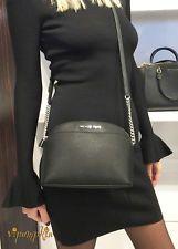 MICHAEL Michael Kors New Emmy Medium Saffiano Black Leather Cross Body Bag 49% off retail
