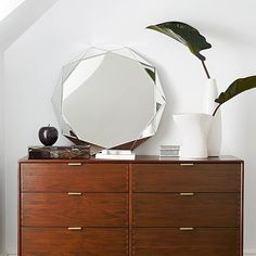 Faceted Mirror - Large #westelm