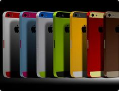 really?? now iphone will have color choices... :-/  iPhone 5S