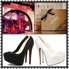 Christian Louboutin Shoe Store..