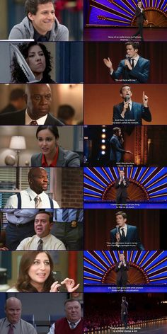Brooklyn 99 characters as John Mulaney quotes. Very accurate! Series Movies, Movies And Tv Shows, Tv Series, Stupid Memes, Funny Memes, Hilarious, Brooklyn 99 Characters, Hunger Games, Brooklyn Nine Nine Funny