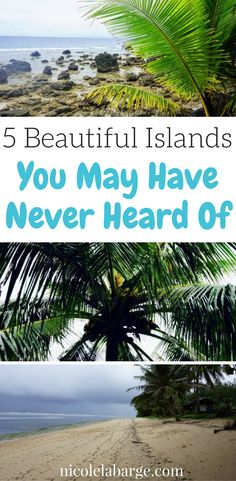 These beautiful islands are some of the most remote places you may not have heard of before.  Find out where these islands are! #islands #remoteplaces #micronesia