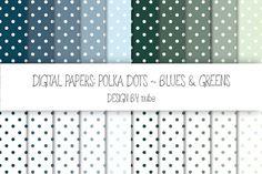 Polka Dots ~ Seamless Patterns. Patterns