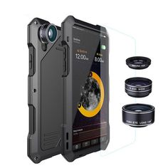 Waterproof Shockproof Metal Case Cover + Camera Lens For Apple iPhone X 8 7 Plus in Cell Phones & Accessories, Cell Phone Accessories, Cases, Covers & Skins Iphone 7 Plus, Iphone 6, Coque Iphone, Iphone Cases, Iphone Charger, Iphone Camera Lens, Macro Camera, Waterproof Phone Case, Waterproof Camera