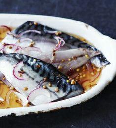 Pickled Mackerel Chef Daniel Galmiche
