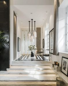 Our porcelain slabs used in Kelly Hoppens home.