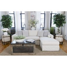 Haley Sectional with Right-Facing Orientation by Elements Fine Home Furnishings - Madison Seating