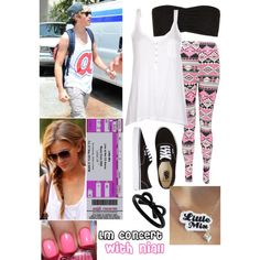 """""""Little Mix concert with Niall"""" by courtneycarson3 on Polyvore"""