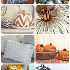 Fall is just around the corner! Check out these 10 fabulous DIY fall decor ideas for inspiration of how to bring the beauty of fall into your home! Diy Christmas Reindeer, Christmas Post, Fall Home Decor, Diy Home Decor, Fall Crafts, Diy And Crafts, Canning Jar Lids, Chalkboard Designs, Pumpkin Decorating