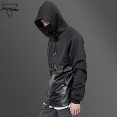Novelty Black Assassins Creed Patchwork Design Hoodies //Price: $56.00 & FREE Shipping //     #ubisoft