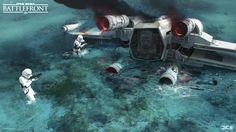 ArtStation - Star Wars Battlefront Rogue One concept art, Esbjörn Nord