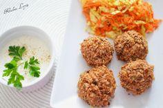 Kuchnia Letycji : FIT kotleciki z kaszy gryczanej