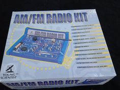 Vintage Young Scientist SCIENCE FAIR Educational  AM FM RADIO KIT  #YoungScientist