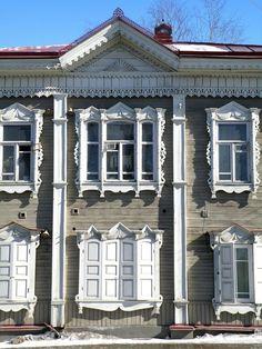 Наличники сибирские Томск -city of Tomsk