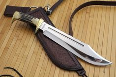 Custom Made Custom Dundee Style Bowie Knife