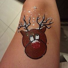 Easy and quick Christmas reindeer by Maddison Ashley @maddysmojo