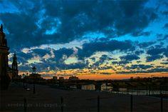 Glücksmomente: Himmel über Dresden
