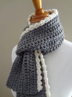 Crochet+Scarf+Pattern+Beginner | Free Crochet Pattern...Ingrid Scarf                                                                                                                                                                                 More