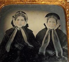 STRIKING AMBROTYPE PHOTOGRAPH TINTED. THIS IS A STUNNING ORIGINAL PERIOD AMBROTYPE PHOTOGRAPH. MOTHER/DAUGHTER or SISTERS DRESSED LIKE IDENTICAL TWINS. WONDERFUL PORTRAIT PHOTO OF MOTHER DAUGHTER OR SISTERS. | eBay!
