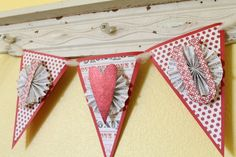 Easy Valentine Banner I made this and I love it!